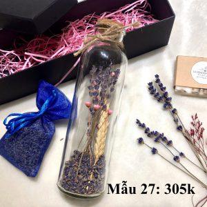 Set quà tặng lavender